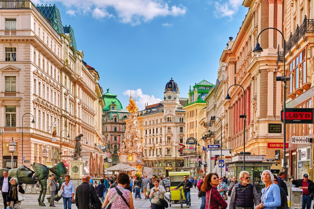 Europe's most beautiful town- Vienna