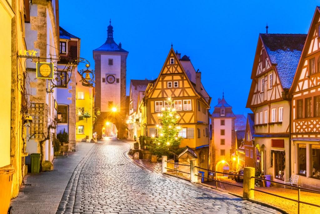 Rothenburg at Christmas