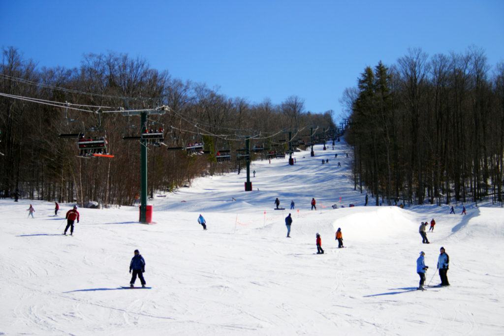 Skiing in New England