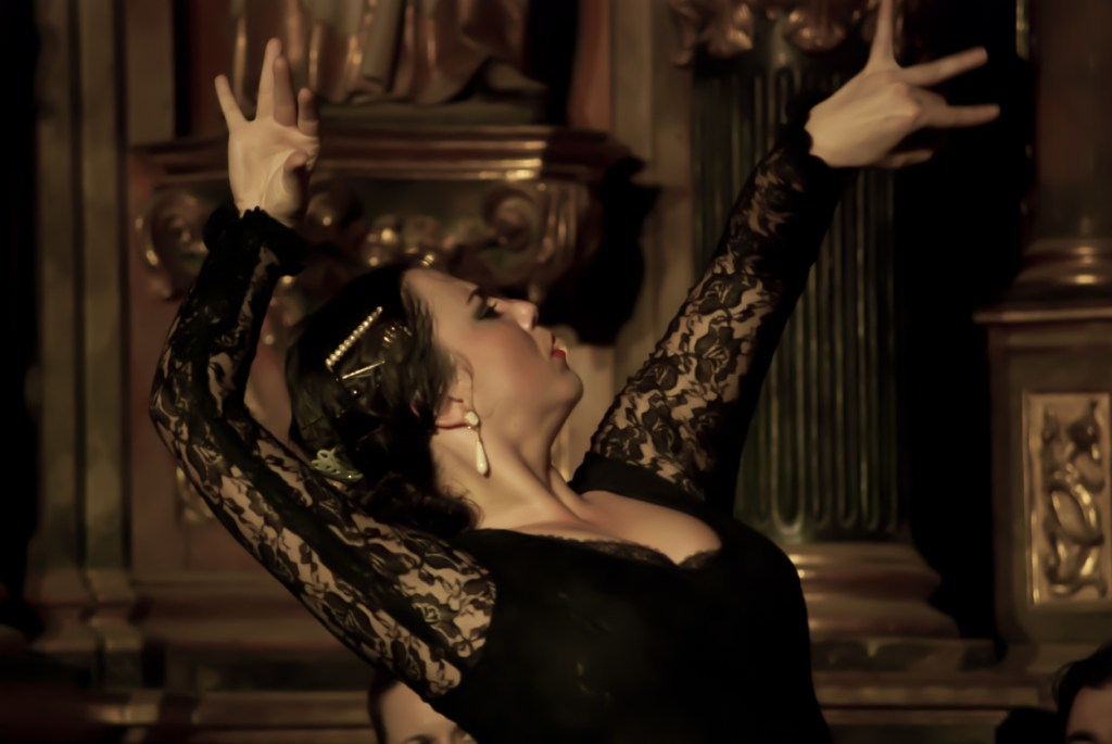 flamenco with great passion