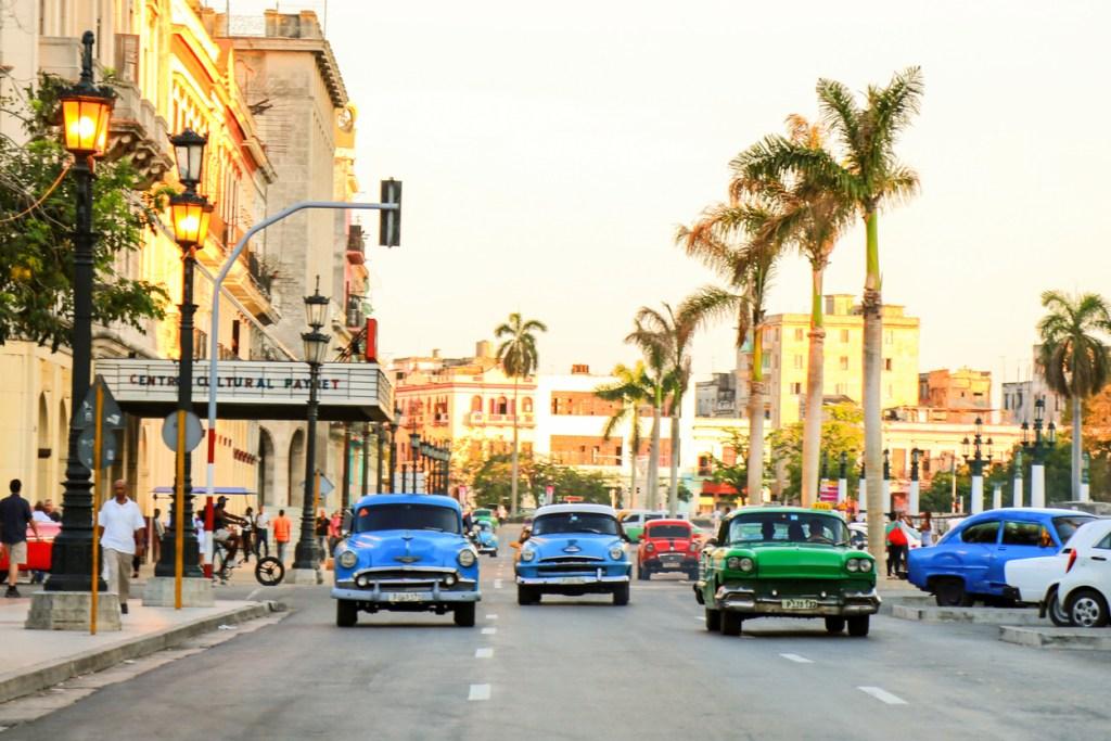 Havana downtown.