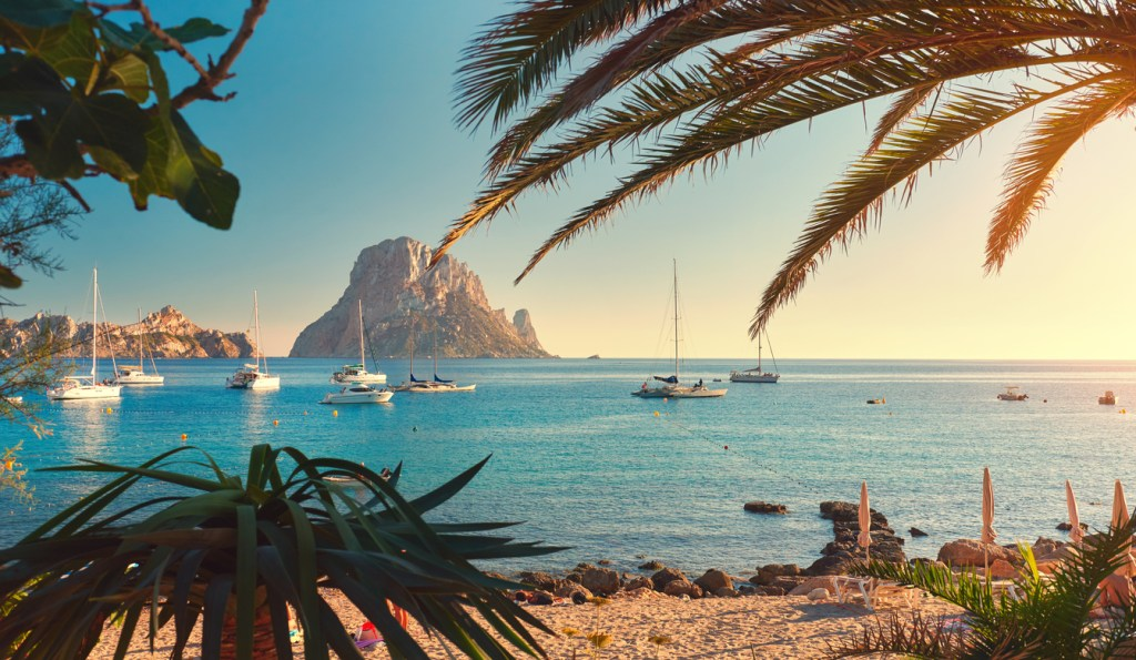 Ibiza Island, Balearic Islands. Spain