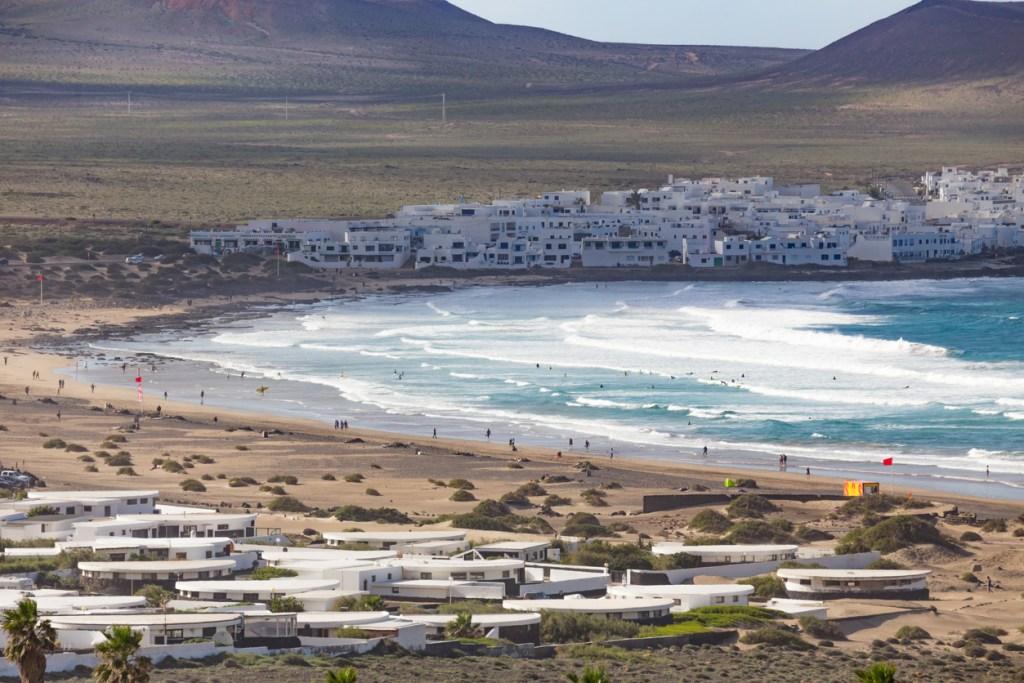 Famara, in Lanzarote, Canary Islands