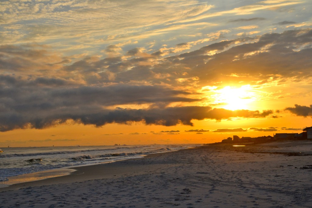 Gulf Shores in Sunset