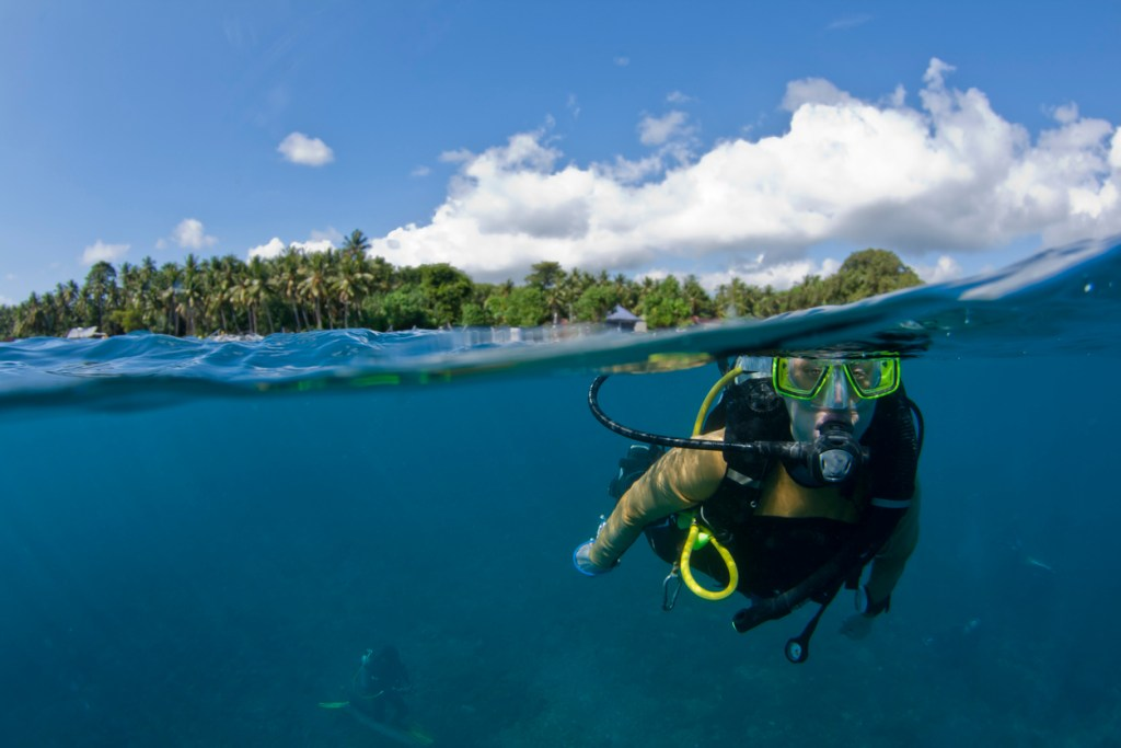 Scuba Diver in Indonesia