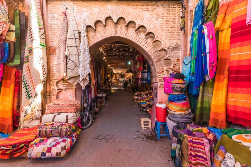 Entrance to Jamaa el Fna market
