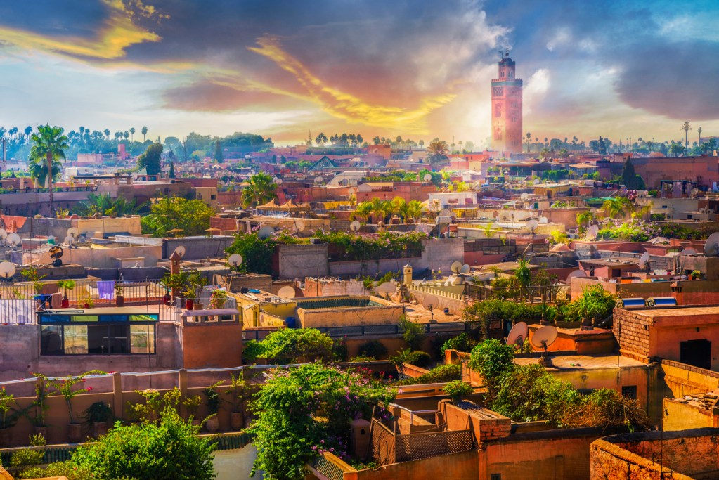 Escape to Marrakesh