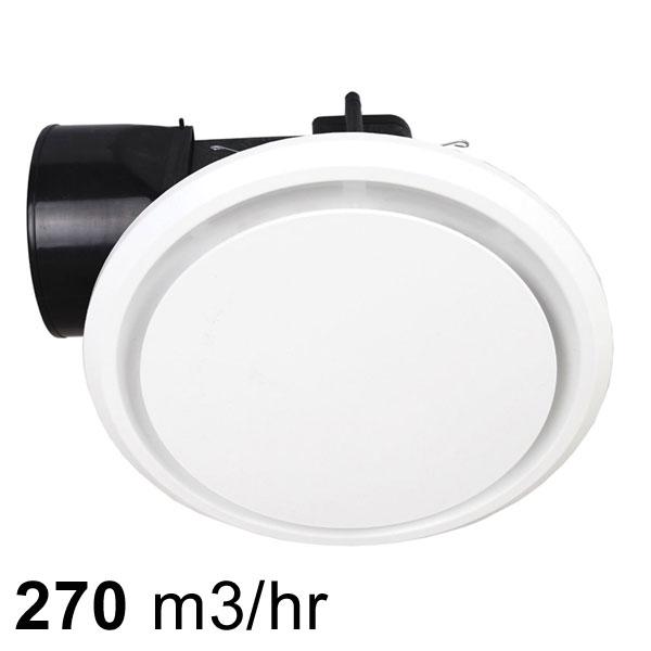 mercator novaline ii 240 ceiling exhaust fan round white