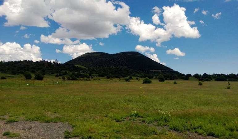 A Journey to an Extinct Volcano in New Mexico