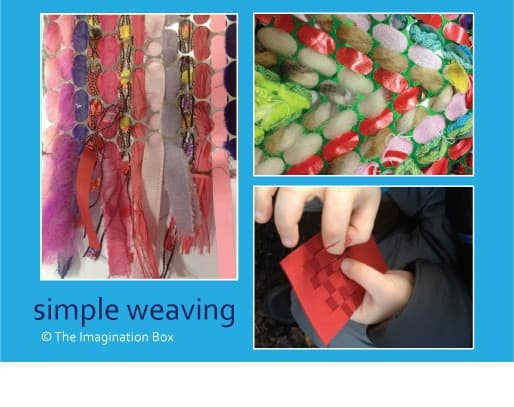 Simple Weaving for Car Trips