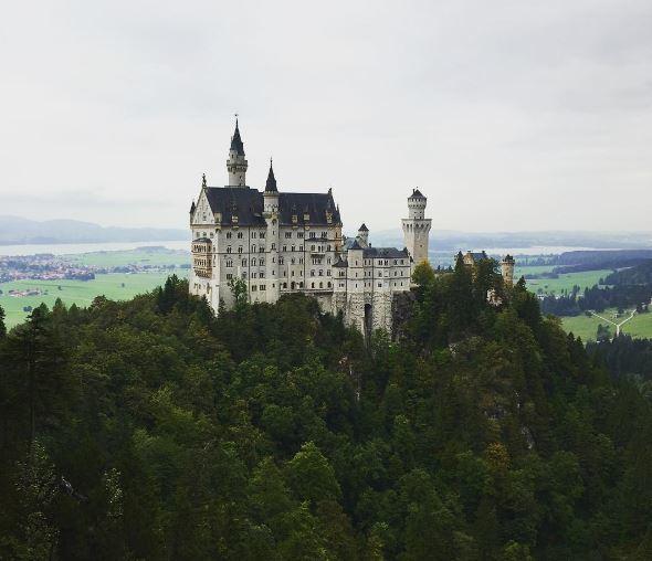 Neuschwanstein castle germany eileen cotter wright