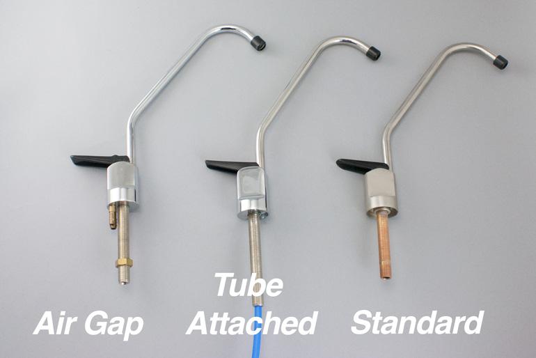 air gap or standard faucet pure