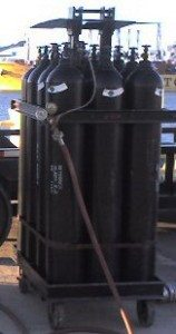 Nitrogen 12 pack cylinders