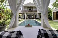 01-Majapahit Beach Villas - Villa Raj - View of villa from bale