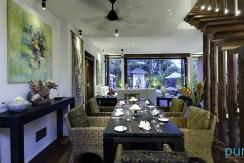 06-Majapahit Beach Villas - Villa Raj - Dining room