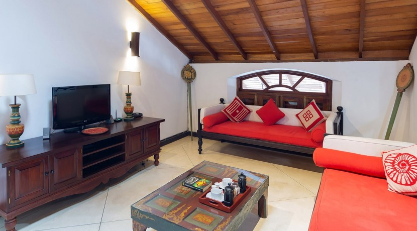 No. 39 Galle Fort Villa - Gorgeous Entertainment room