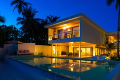 Amilla Residence - Evening ambience