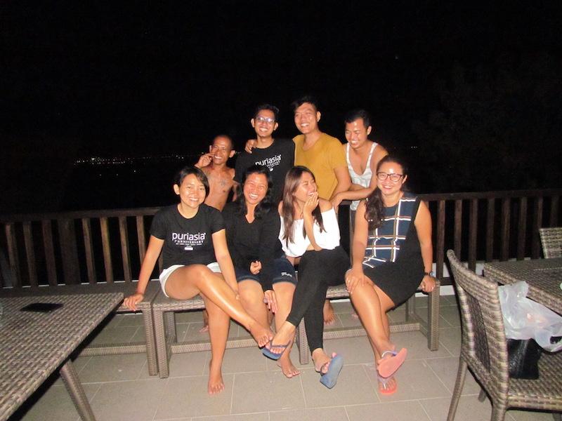 Night with team