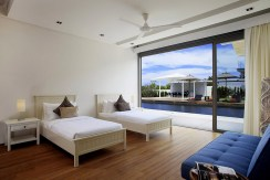 Villa Cielo - Twin bedroom outlook