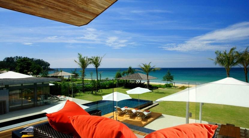 Villa Malee Sai - View form upstairs lounge