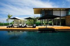 Villa Essenza - Poolside terrace
