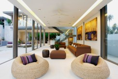 Villa Roxo - Living spaces layout