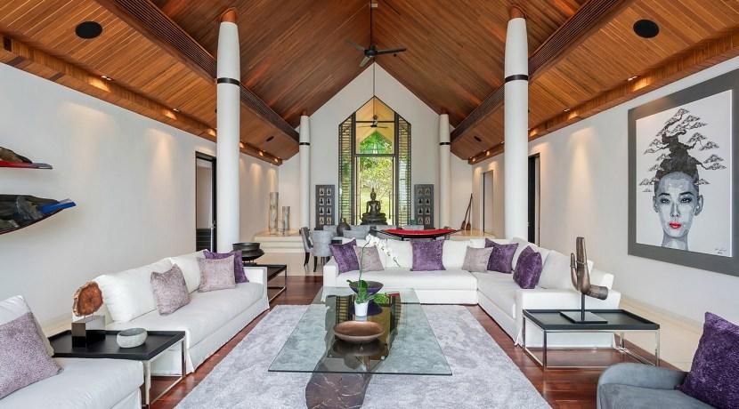 Villa Naam Sawan - Spacious Living Area