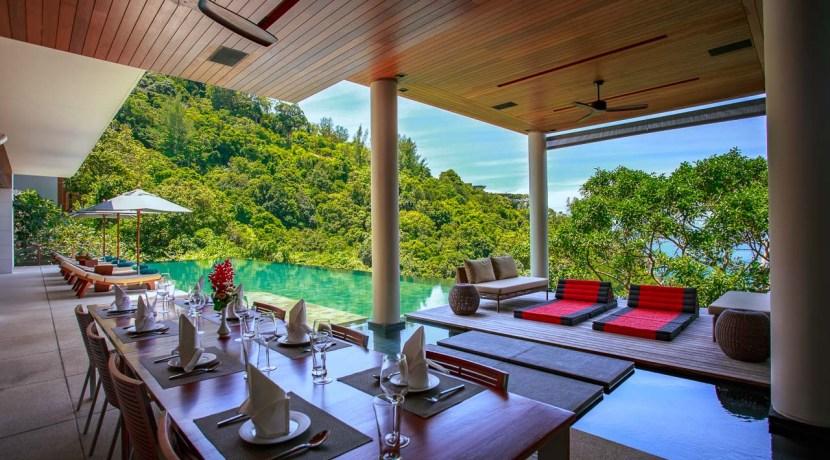 Villa Baan Banyan - Dining with pool view