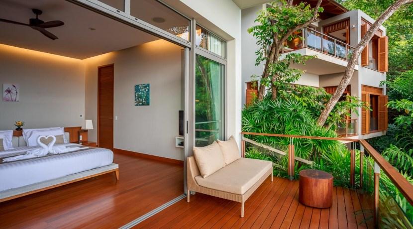 Villa Baan Banyan - Suite Room 3 interior and balcony