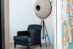 10.-Villa-Canggu---Villa-North-bedroom-one-corner-chair-and-art