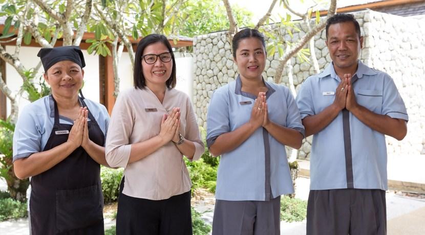Villa Jia - Our crew