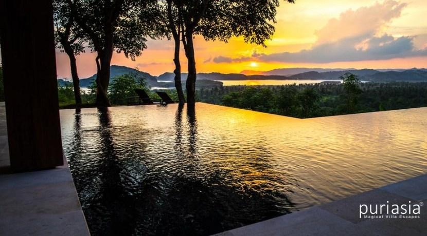 Villa Sorgas - Sunset from the Villa