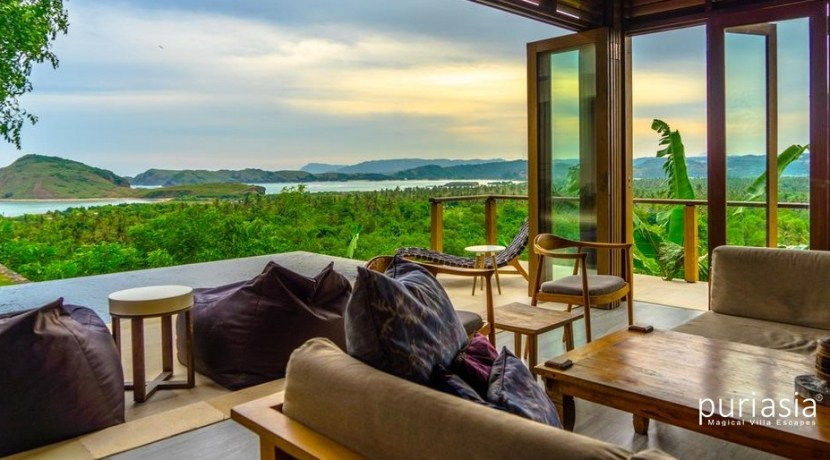 Villa Sorgas - View from Living Area