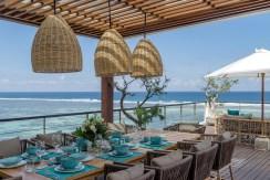 Villa Grand Cliff Nusa Dua - Georgeous dining area