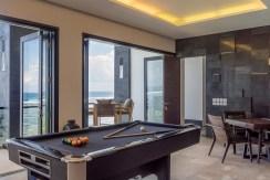 Villa Grand Cliff Nusa Dua - Pool table
