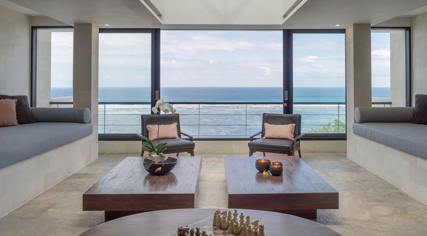 Villa Grand Cliff Nusa Dua - Ocean lounge