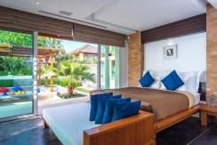 Villa Yaringa - Poolside bedroom design