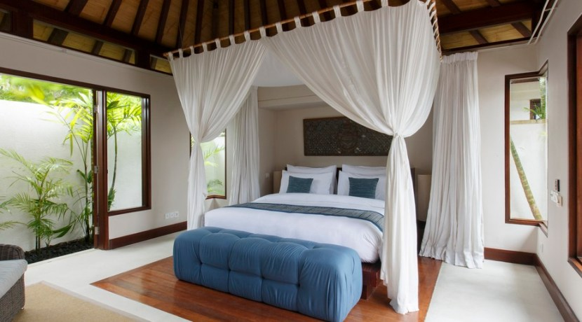 Chintamani Ocean Suite - Private Plunge Suite Bedroom