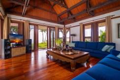 Villa Chada - Living area design