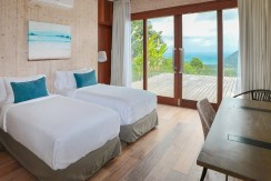 Villa Tebing - Guest bedroom with gorgeous view