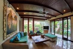 Villa Anggrek - Living Area