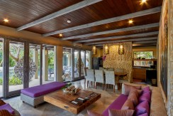 Villa Anggrek - Living and Dining