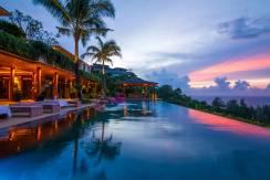 Villa Sawan - Sunset from Villa