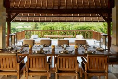 Aman Villa at Nusa Dua - Dining Terrace