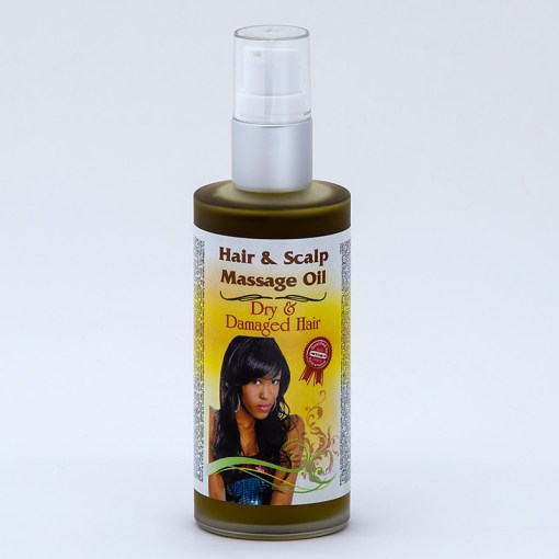 Dry and Damaged Hair and Scalp Massage Oil   Puirty Natural