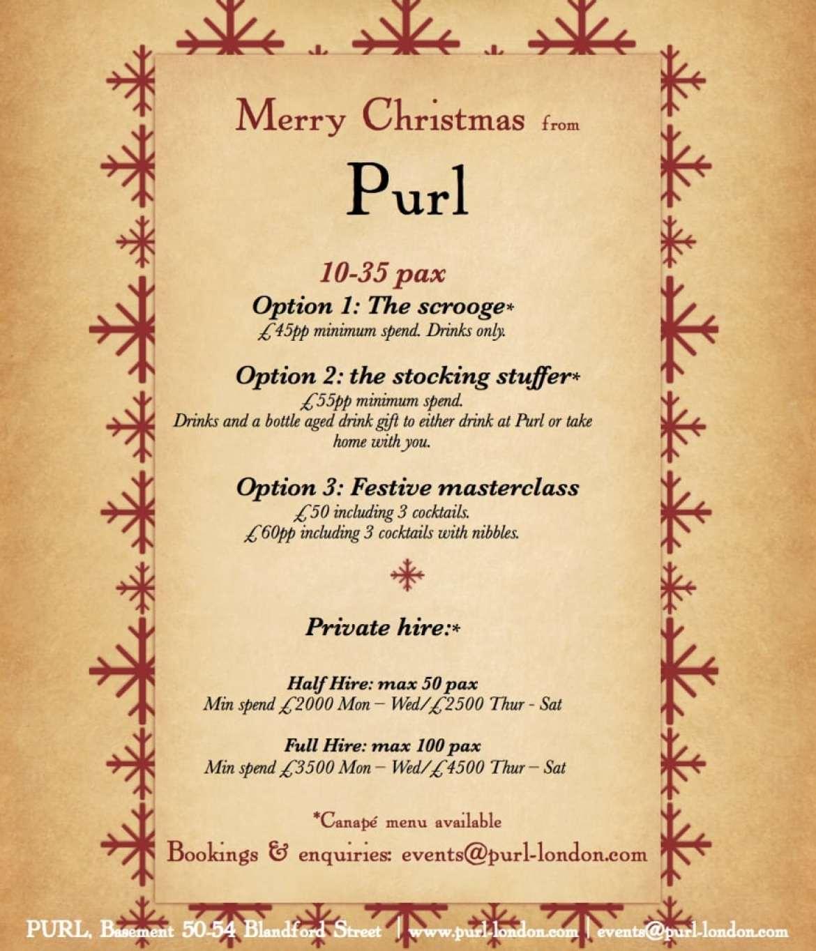 Christmas Purl 2015