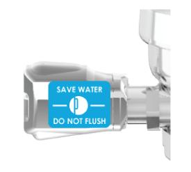 Do Not Flush Velcro - Autoflush (2)