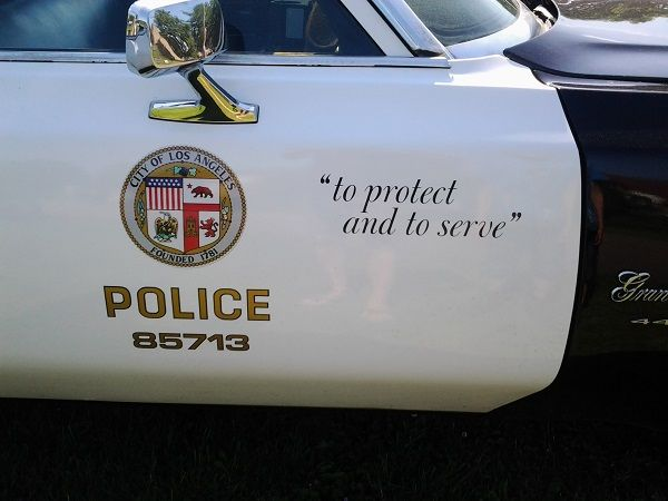 Police Car USA2DAY