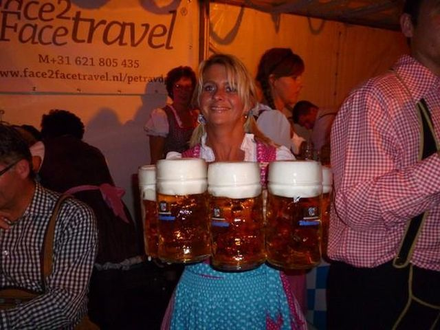 Oktoberfest in cafe de bonte keo in Purmerend 640