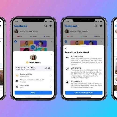 Ojo Zoom: Videollamadas grupales de Messenger Rooms ya se pueden emitir en directo